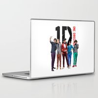 one direction Laptop & iPad Skins featuring One Direction by Marianna