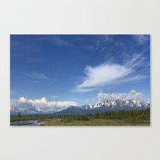 Knik River Canvas Print