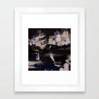winter coat Framed Art Print