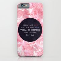 VODKA IS CHEAPER iPhone 6 Slim Case
