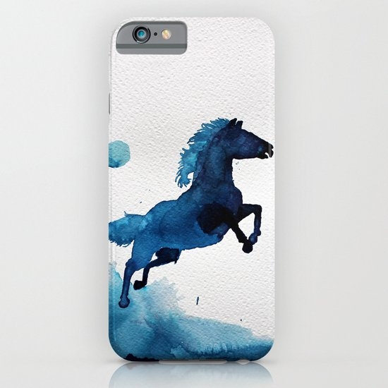 Equus ferus caballus iPhone & iPod Case
