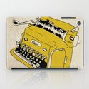 Grunge Typewriter iPad Case
