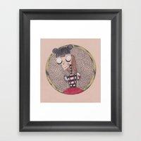 Mouse Club Dropout. Framed Art Print