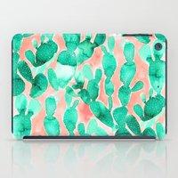 Paddle Cactus Blush iPad Case