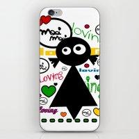 LOvinG MoOi MoOi iPhone & iPod Skin