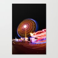 Circuitous & Looming Large Canvas Print