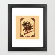 Art Nouveau. Cinnamon An… Framed Art Print