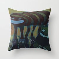Traffic Day Throw Pillow