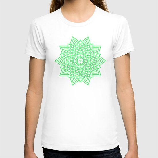 Green... T-shirt