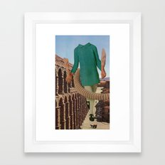 out for a stroll Framed Art Print