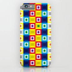 Squares Pattern Slim Case iPhone 6s