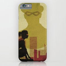 Who is the man in the bowler? Superheroes SF iPhone 6 Slim Case