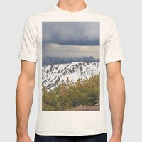 Sonora Peak Mens Fitted Tee Natural SMALL