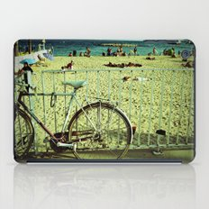 Bicycle by the Beach iPad Case