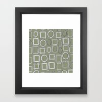 Picture Frames Herb Framed Art Print