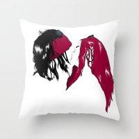 Rock 'n' Roll xxx Throw Pillow