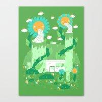 Power plant Canvas Print