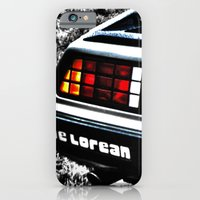 iPhone & iPod Case featuring Where We're Going, We Don't Need Roads! by Catherine Doolan