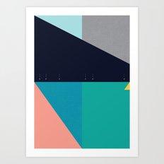 FLEECE, FOG, FARALLON 2 Art Print