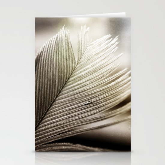 Feather Tip Stationery Card