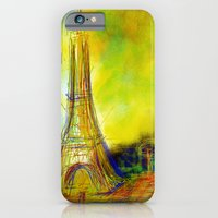 eiffel iPhone & iPod Cases featuring Eiffel by Alexandre Reis