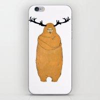 Laurence Moose iPhone & iPod Skin