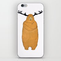 Laurence Moose iPhone & iPod Skin