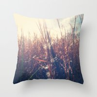 Clothed In Beauty.  Throw Pillow
