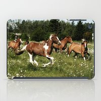 Spring Horse Run iPad Case