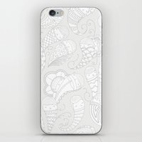 Ghostly Paisley: Dust to Dust iPhone & iPod Skin