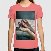 Alive. Womens Fitted Tee Pomegranate SMALL