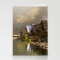 Morning In Village Stationery Cards