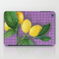 Lemonade iPad Case