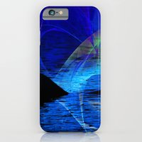 iPhone & iPod Case featuring Dolphin Crossing by Roger Wedegis