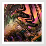 N77 Fractal Art Print