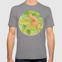 Guarimba. Mens Fitted Tee Tri-Grey SMALL
