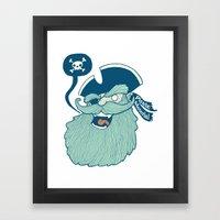 Pirate Material Framed Art Print