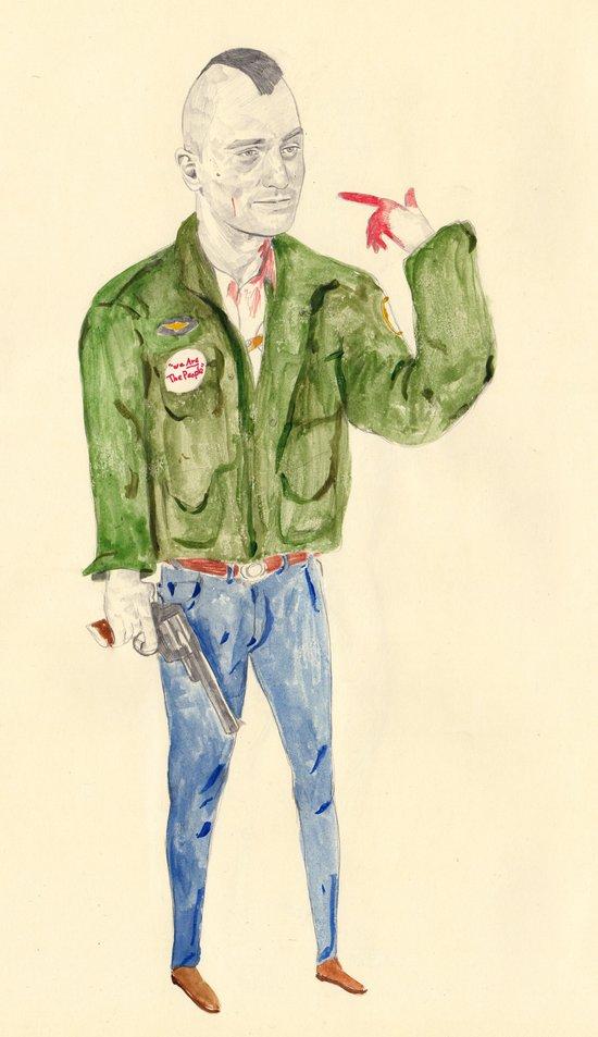 Travis Bickle | Taxi Driver  Art Print