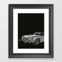 THE Bond Car. Framed Art Print