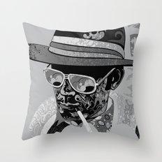 Dr Gonzo Throw Pillow