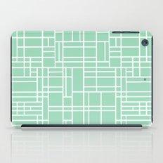 Map Outline Mint iPad Case
