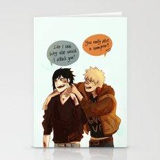 Naruto Vampire AU  Stationery Cards