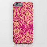 Simple Ogee Pink iPhone 6 Slim Case