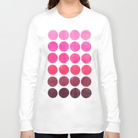 Color Play Pink Long Sleeve T-shirt