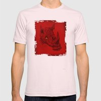 Red Rhino Mens Fitted Tee Light Pink SMALL