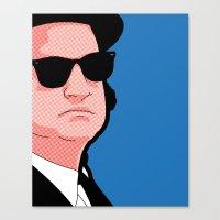 Pop icons - Tribute Jake Canvas Print