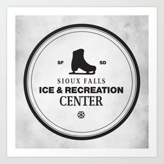 Sioux Falls Ice & Recreation Center Art Print