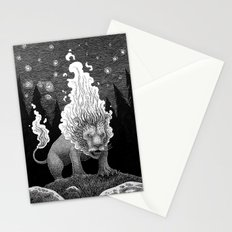 Roaring Fire Stationery Cards