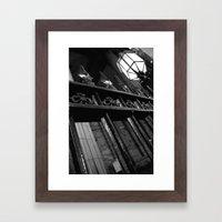 Gated Framed Art Print