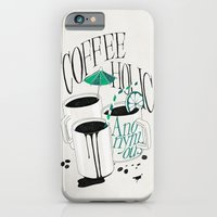 iPhone & iPod Case featuring Us And Them: Coffeeholic Anonymous. by Anton Marrast